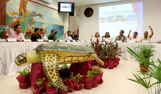 Se instala Comité de Protección y Conservación a la tortuga marina