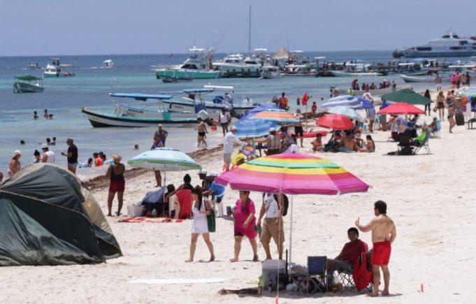 Puerto Morelos registra gran auge turístico por la semana mayor