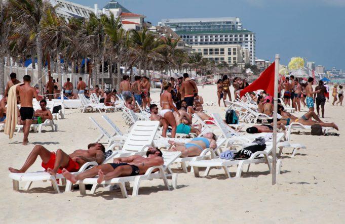 Incrementaron los índices de afluencia turística en Cancún, durante Semana Santa