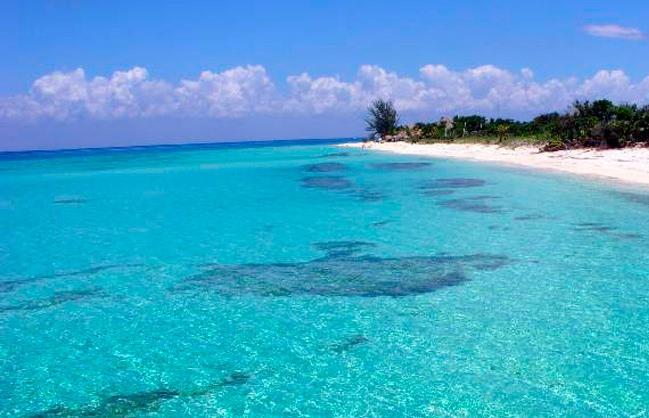 Cozumel de las playas más limpias y bellas del país