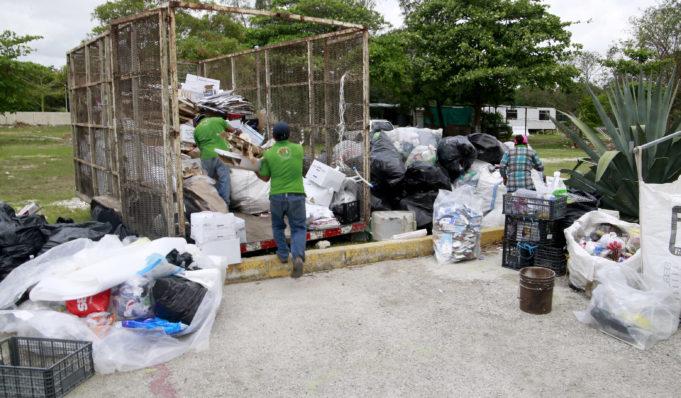 En la sexta jornada del Riciclatón 2019, se recolectaron más de 12 mil kilos de desechos sólidos