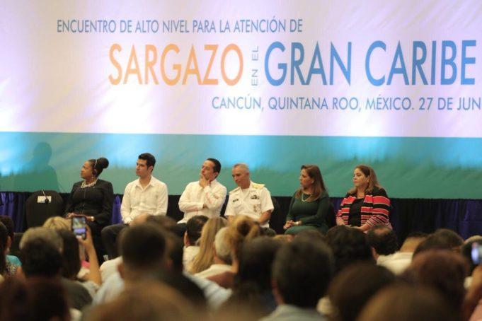 Encuentro de Alto Nivel para la Atención del Sargazo, para conocer posibles soluciones