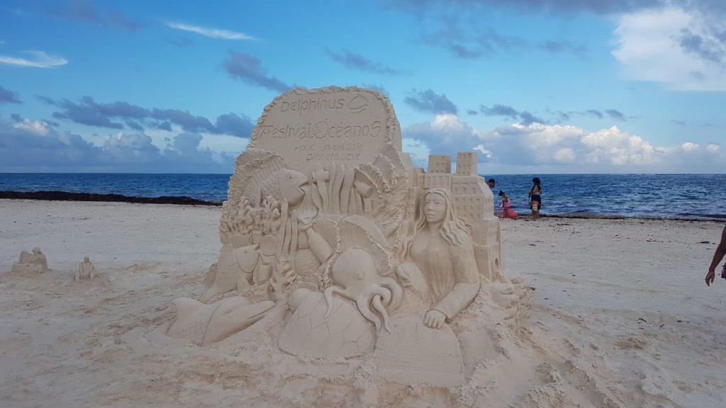 """""""Disfruta y Cuida tu Playa"""" del Festival de los Océanos en Puerto Morelos."""