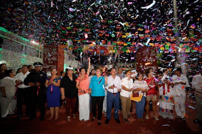 Con algarabía inició la Feria del Carmen 2019, al ritmo de Margarita