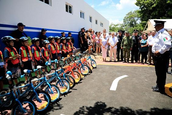 Se inaugura Parque temático de educación vial