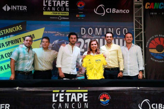 """Cancún sede para el 2020 de la carrera ciclista L'ÉTAPE DEL """"TOUR DE FRANCE"""""""