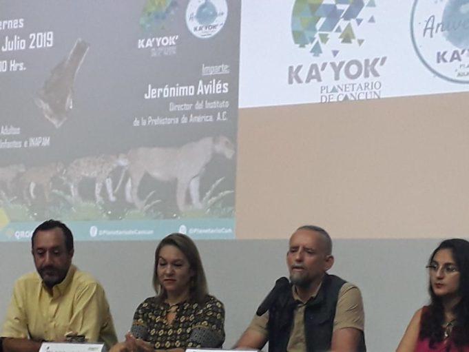 Actividades científicas y educativas en el 6to aniversario del Planetario de Cancún