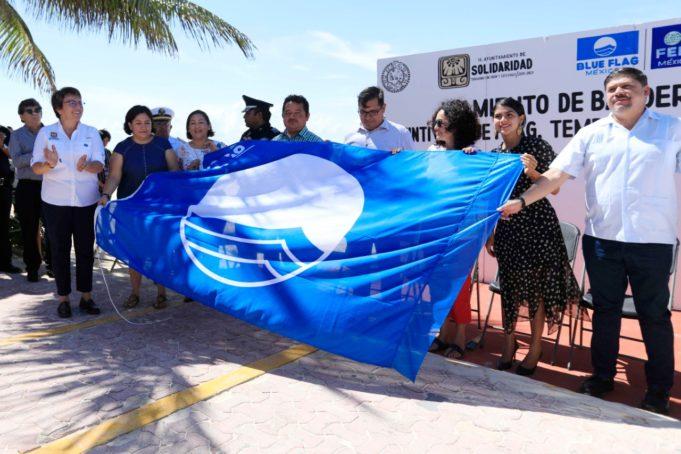 "Se incrementan de 3 a 6 playas con certificado internacional de excelencia ""Blue Flag"