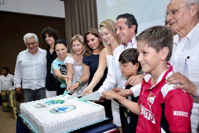 El gobernador Carlos Joaquín encabezó la ceremonia del sexto aniversario del planetario Ka´ Yok