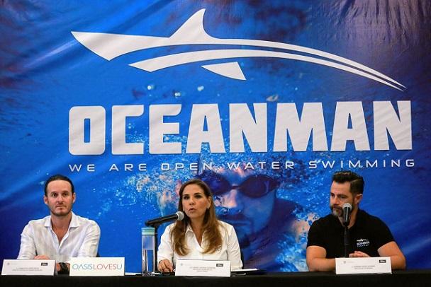 Playa Langosta sede de la competencia de la Oceanman 2019